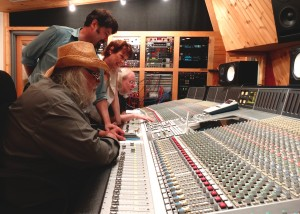 Doc Holiday and Bobby Bradley driving the board at Quad with Amy & Alex